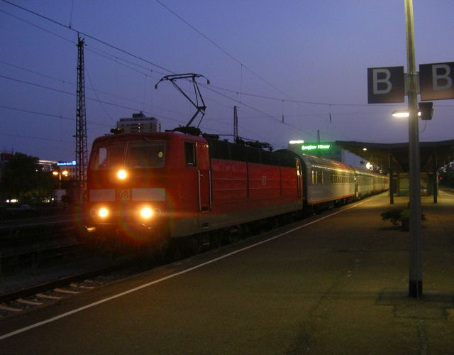 German night train