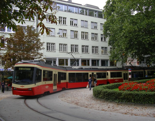 Stadelhofen with Forchbahn