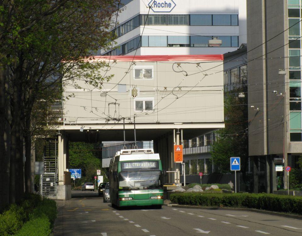 Basel trolleybus farewell