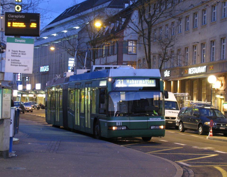 basel trolleybus