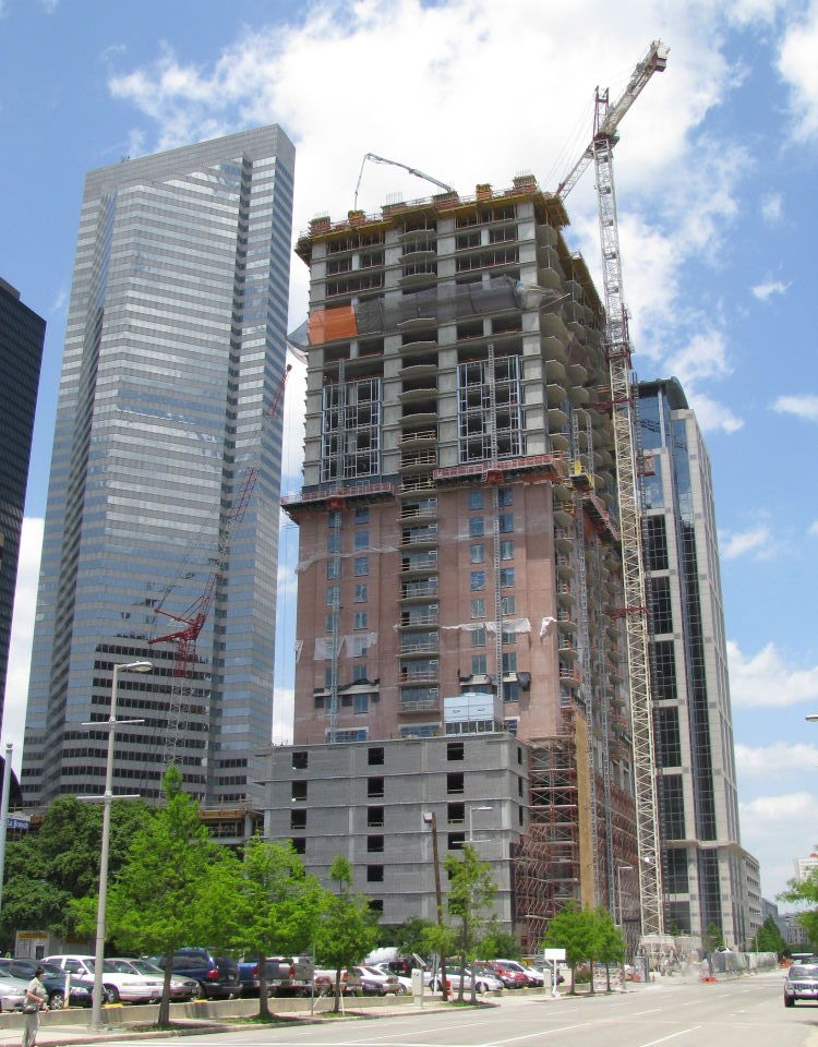 houston skyscraper construction