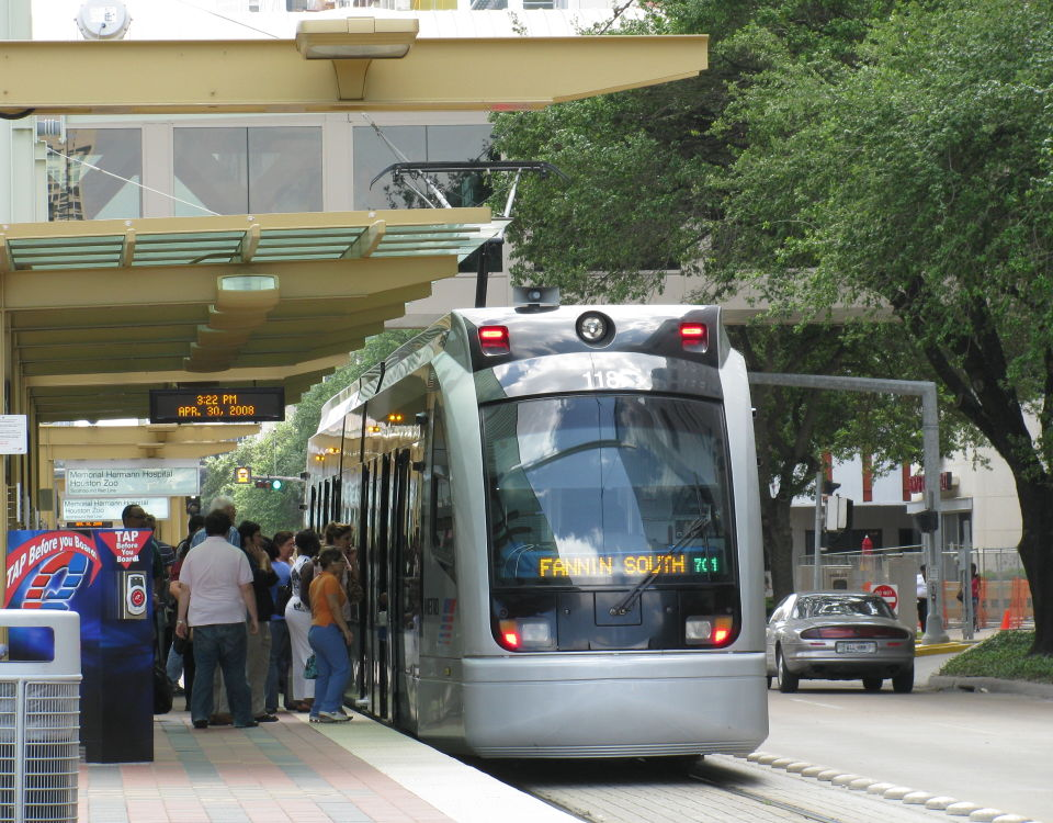 tram in houston