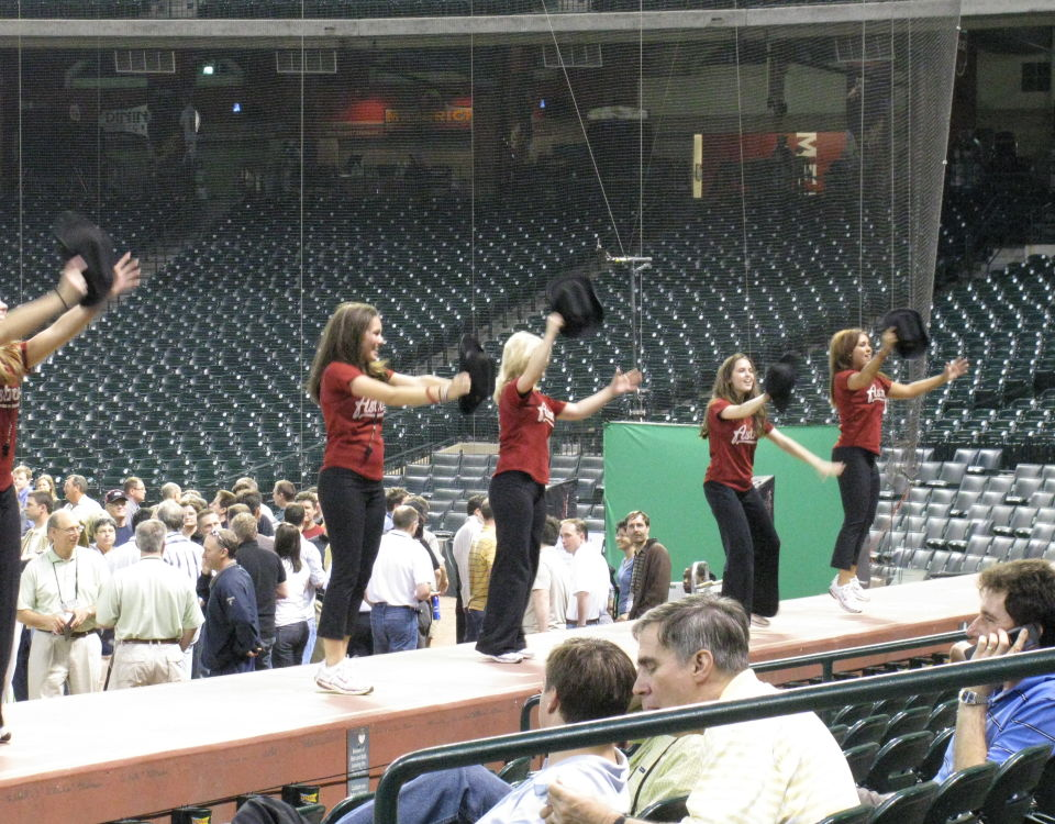 minute maid stadium cheerleaders