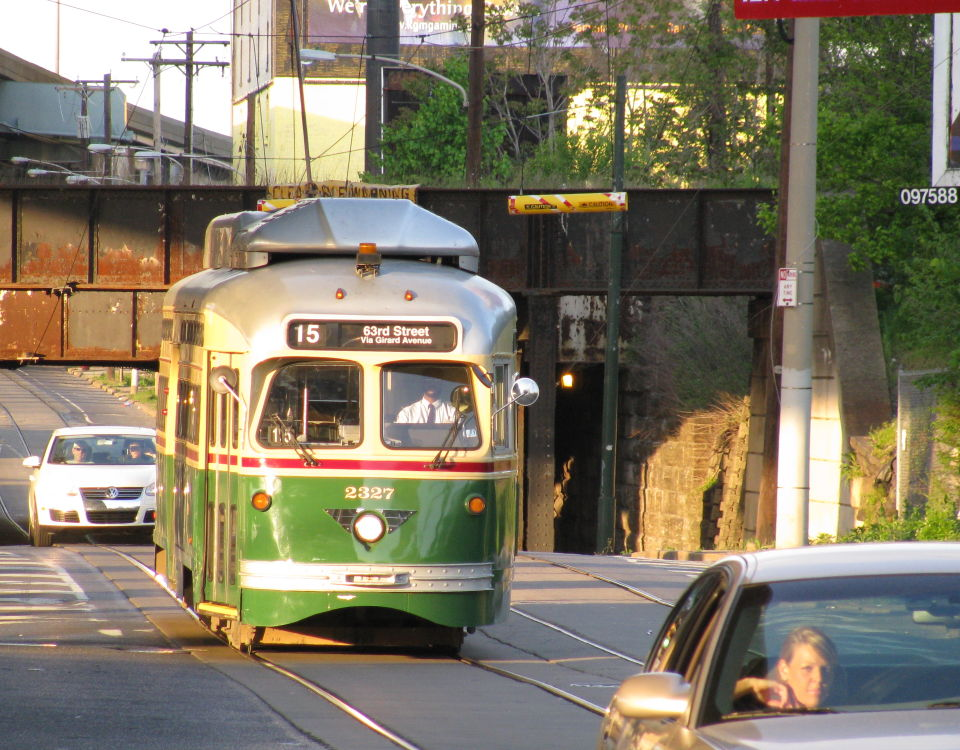Philadelphia trolley