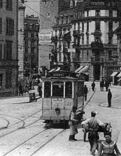 old zurich tram