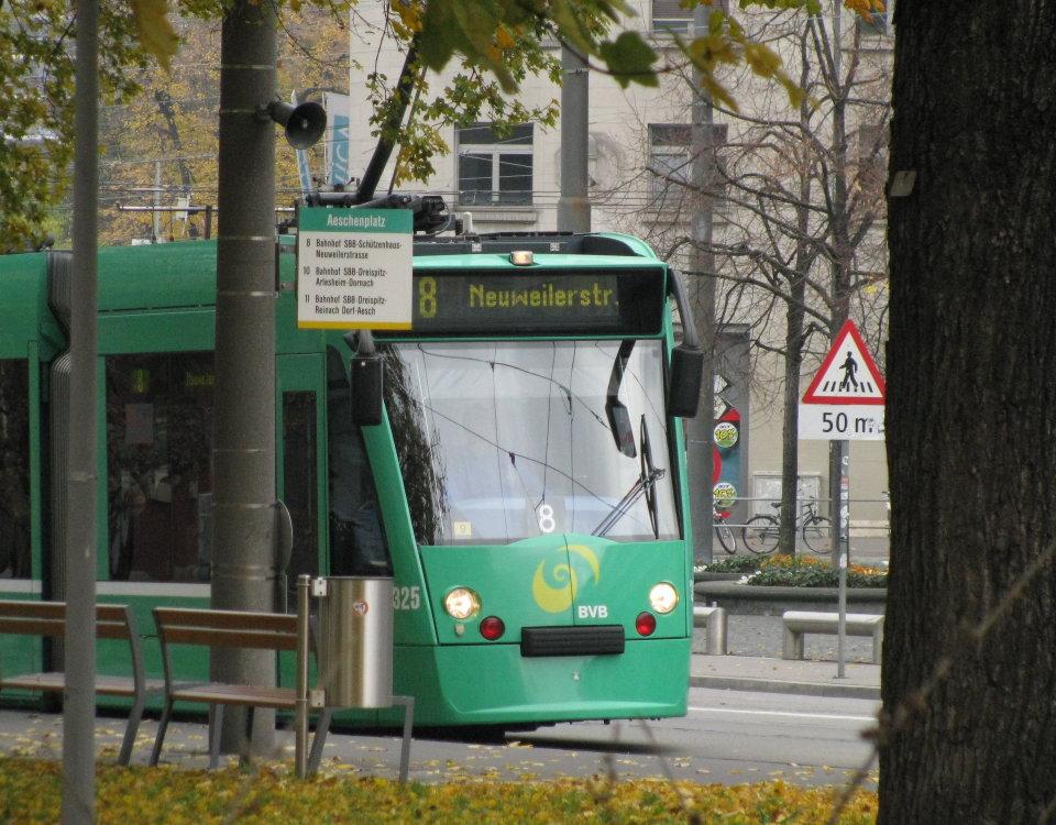 basel tram 8