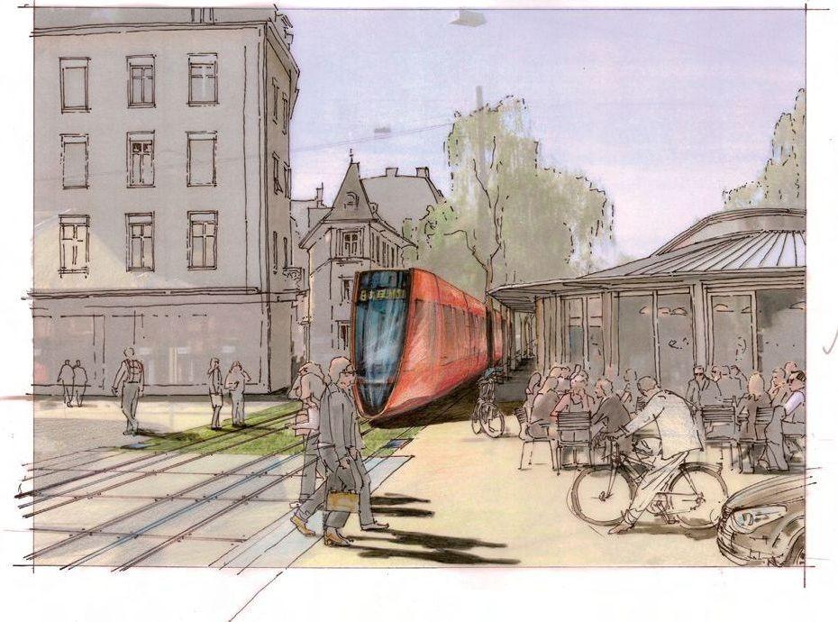 Biel tram