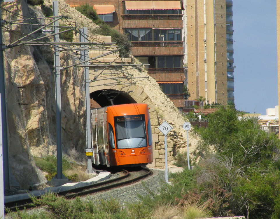 Alicante tram Albufereta