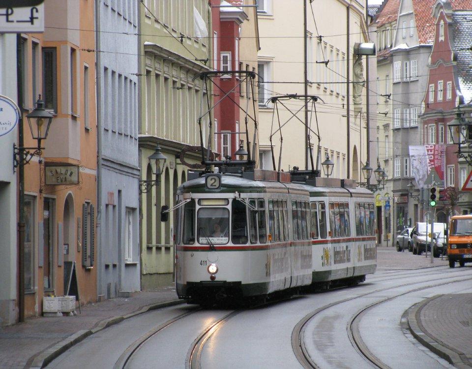 Augsburg tram