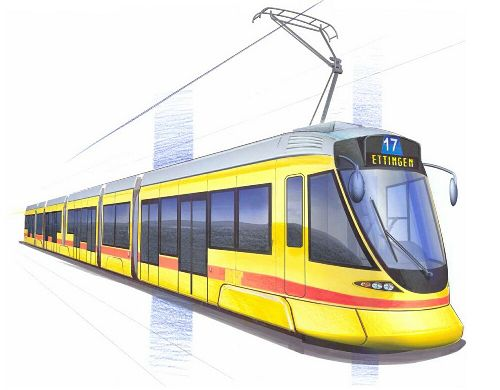 BLT Tango tram Basel
