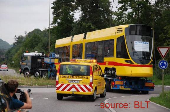 BLT tango basel transport