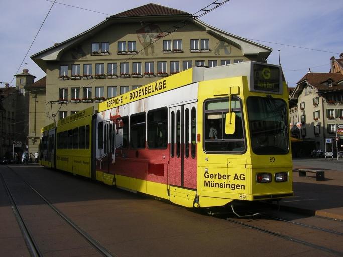 RBS tram in bern