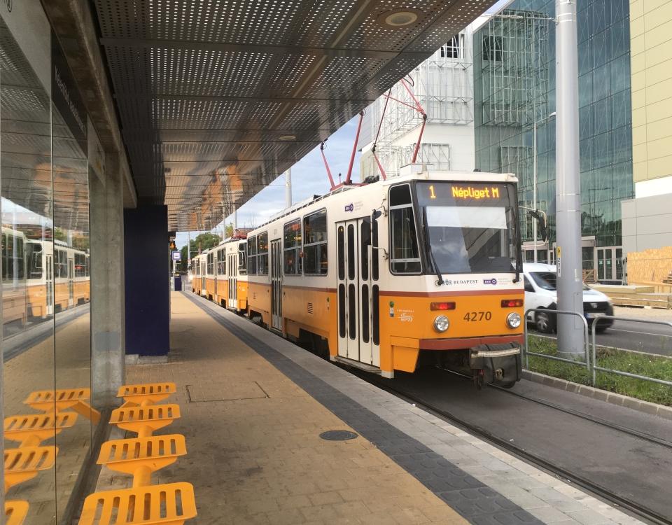 tatra tram kelenfold