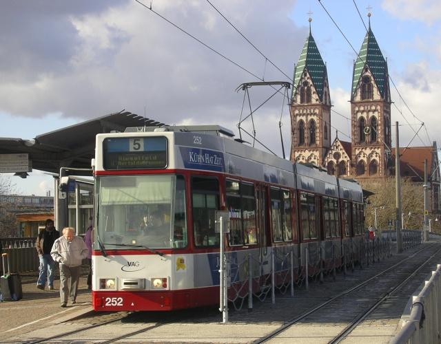 Freiburg tram