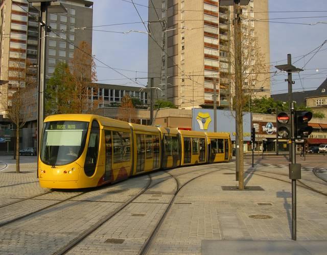 mulhouse tram