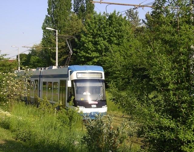 silent tram