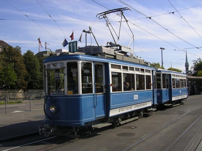 schnellaeufer tram HB