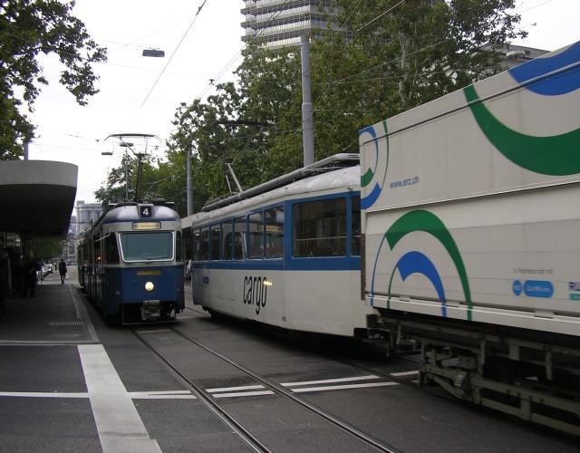 Cargotram Limmatplatz