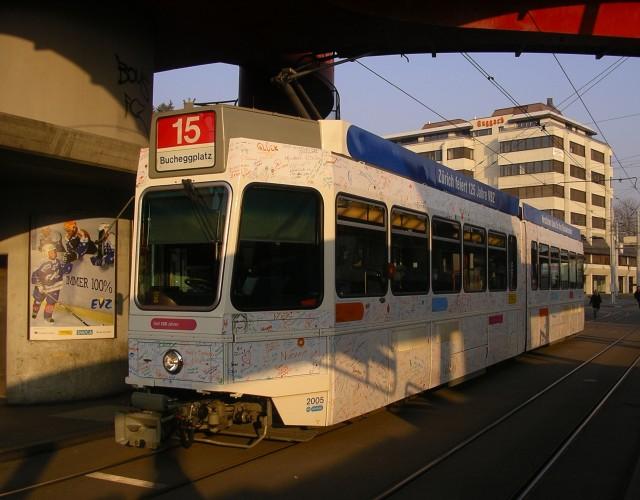 birthday tram bucheggplatz