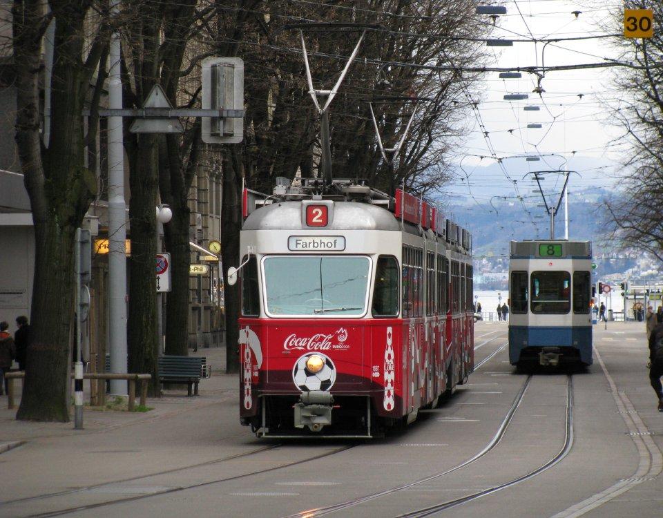 coca-cola tram