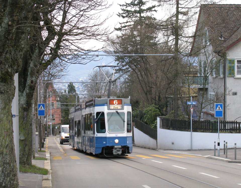 route 6 tram