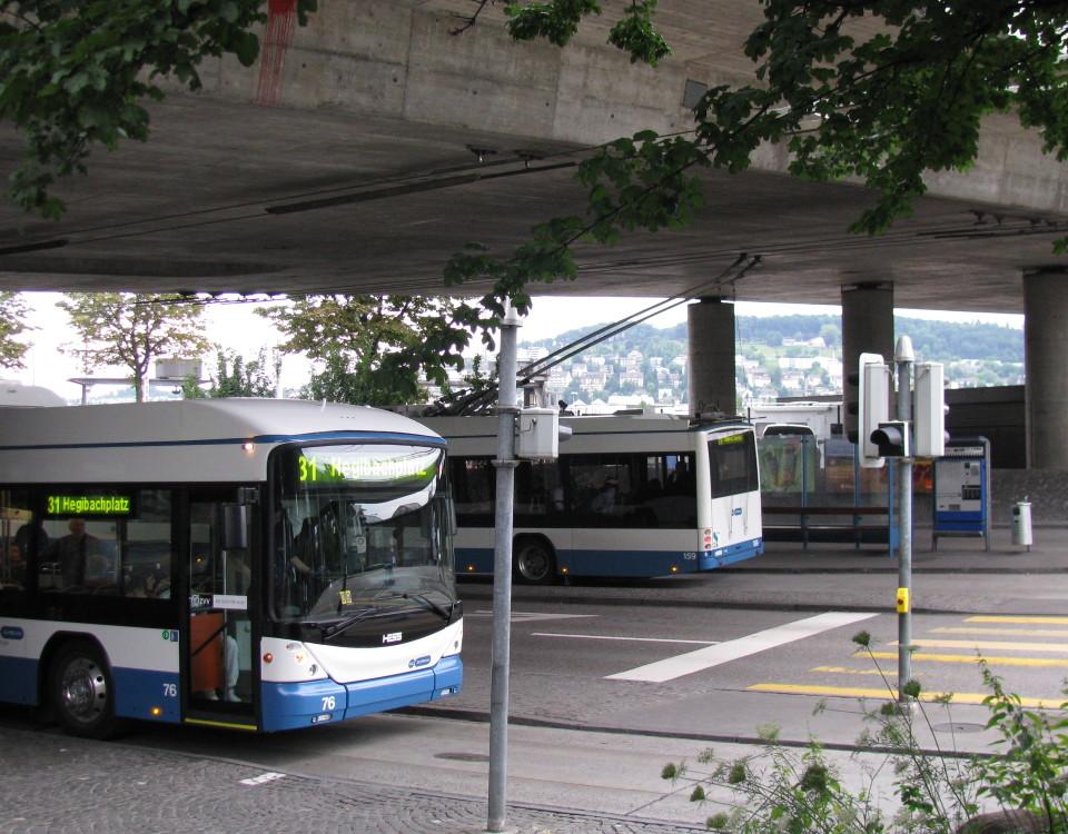 trolleybus hardplatz