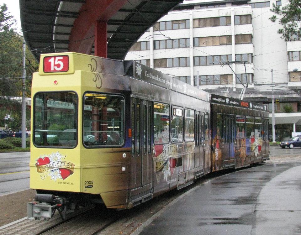 Ewigi Liebi tram 2005