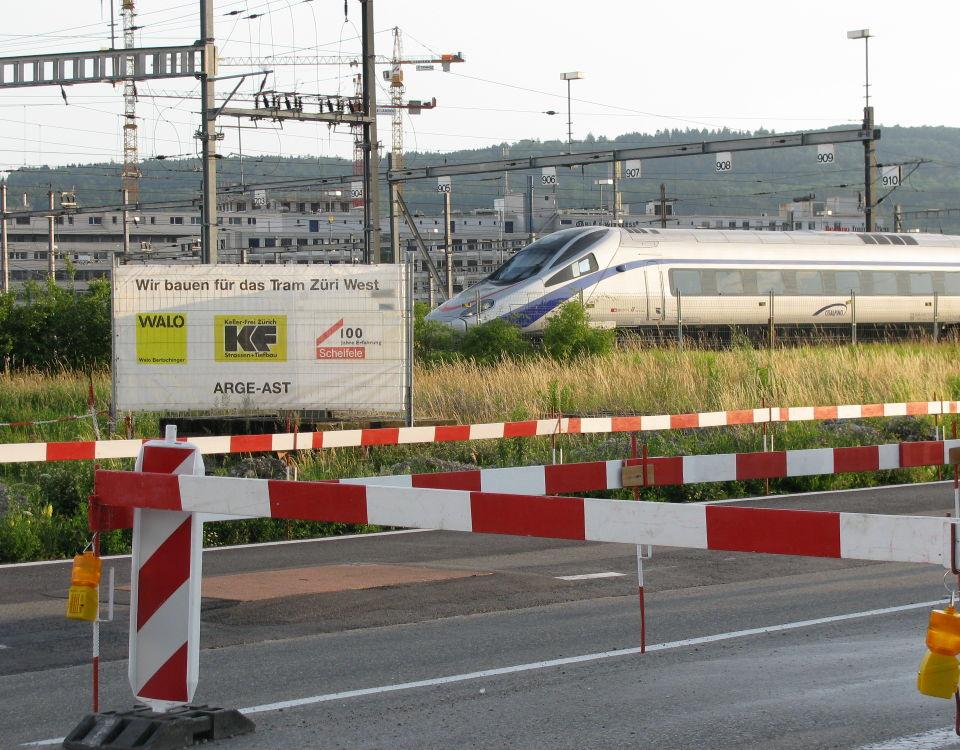 unexpected rail encounter