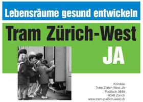 tram zuerich west referendum poster