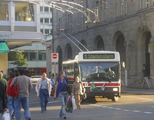 Sankt Gallen Trolleybus