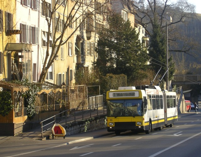 Schaffhausen trolleybus saved
