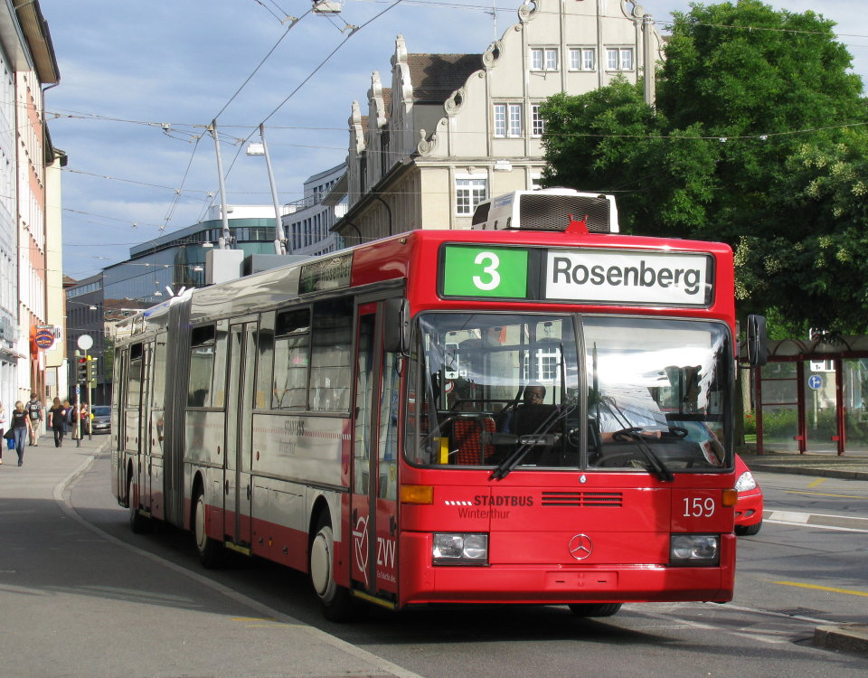 Winterthur trolleybus