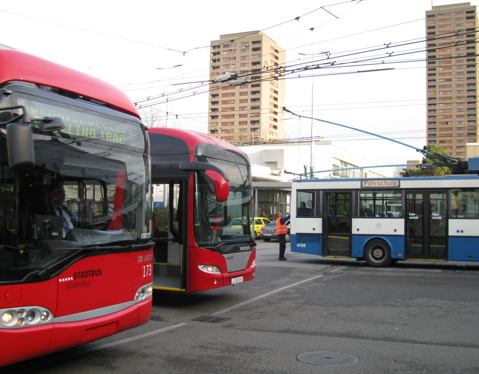 trolleymotion, swiss and venezuelan trolleybuses meet