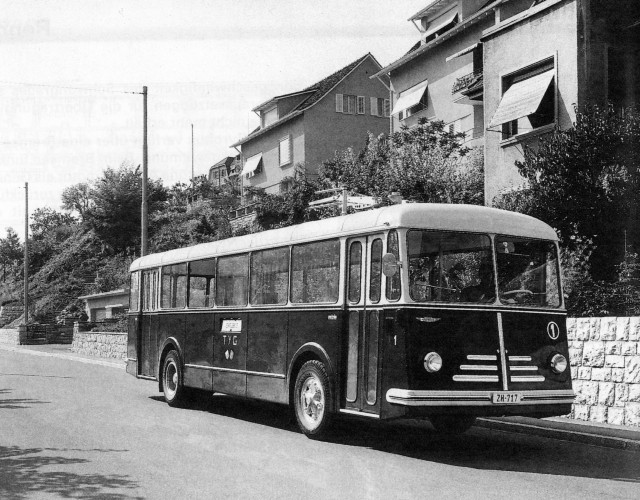 Gyrobus Yverdon under test