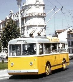 Coimbra Secheron/Saurer trolleybus